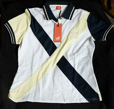 Tottie Short Sleeve Polo Top Size L New