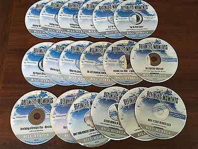 Defining Moments CD Lot of 18 Advanced Training Christian Leaders Audio Hybels