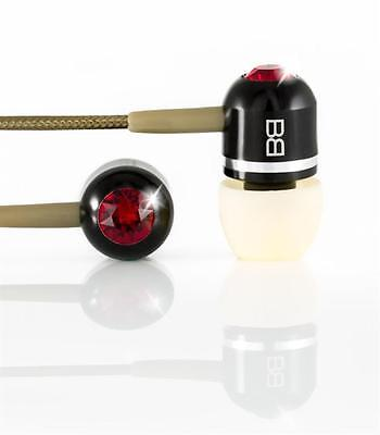 Bassbuds Fashion Collection High performance In-Ear Headphones 'Obsession'