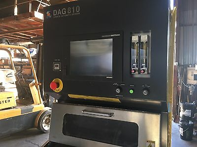 2014 DISCO DAG 810 GRINDER Demo Machine Never in production