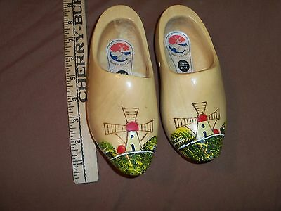 Small Wooden Shoes Made in Holland Size 23-24 15 CM
