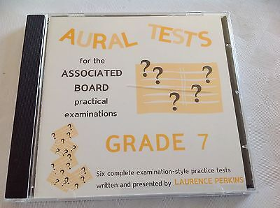 Aural tests for the Associated Board Grade 7 CD