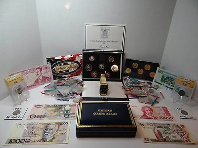 USA & Foreign Coin and Currency lot