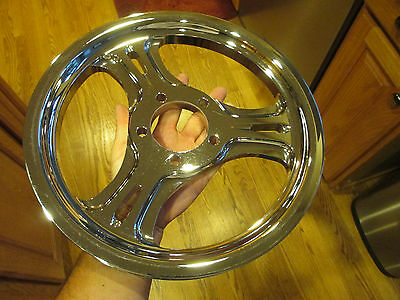 "Motorcycle Chrome Pulley 70T 1-1/8"" For Harley Chopper - Performance Machine Y2K"