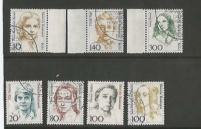 German  stamps 1986