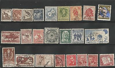 Australian  Stamps  all very fine  used