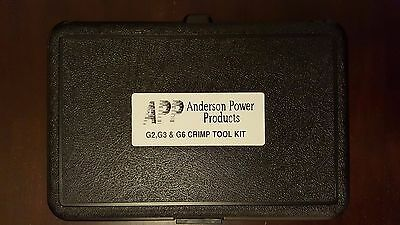ANDERSON POWER PRODUCTS 1309G8 CRIMP TOOL KIT, Genuine and Brand New
