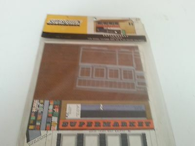 Superquick Series B No 27 Supermarket - Low Relief Cardboard Kit Ho Oo