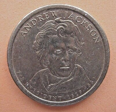 US   PRESIDENTIAL DOLLAR    2008   ANDREW JACKSON   Mint  D   CIRCULATED