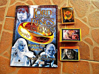 The Lord Of The Rings - Empty Album And Set Of The Stickers (223/226)