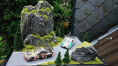 1:43 Diorama ..the Rock.. The Real Diorama For Modell Cars