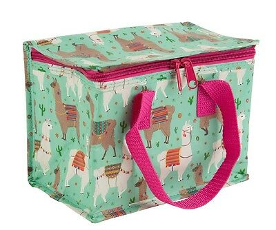 Lima Llama Insulated Lunch Bag Recycled Cooler Bags Childrens Kids