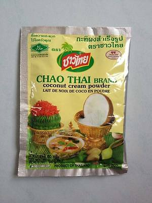 Coconut Cream Powder Chao Thai Brand Product of Thailand.