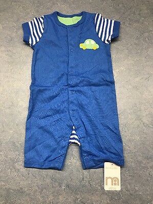 3-6 months boys summer Play Suit