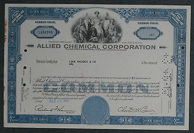 Allied Chemical Corporation 1967 1 Share .