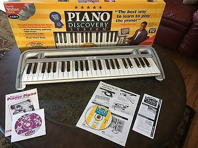 1997 Jump! Music Piano Discovery System w/Year 1 & Player Piano Software