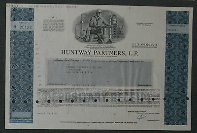 Huntway Partners, L. P. 1990 100 Shares .