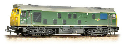 [Bachmann] Class 25/1 25043 BR Green Full Yellow Ends (Weathered) 32-331