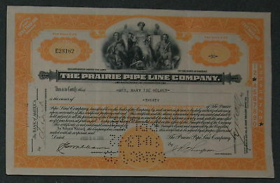 The Prairie Pipe Line Company 1931 30 Shares .