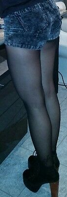 Collant usate colore nero. pantyhose used black