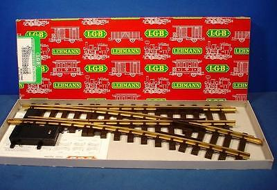 LGB 1605 Right hand electric track switch 440 mm large radius curve  G scale