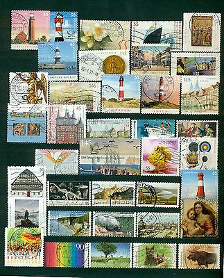 Germany stamps, collection of years 2004-2012, used