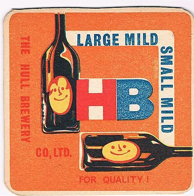 1 Bierdeckel Sous Bock Beermat Beer Mat Coaster Hull Brewery Cat No 86
