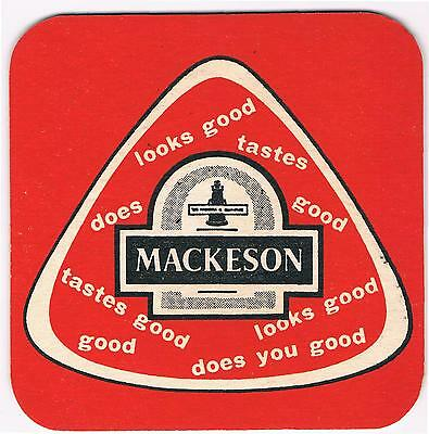 1 Bierdeckel Sous Bock Beermat Beer Mat Coaster Mackeson Cat No 280