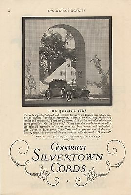 S-3  Cords (Tires) - 1922 Vintage Advertisement / Shur-on Glasses