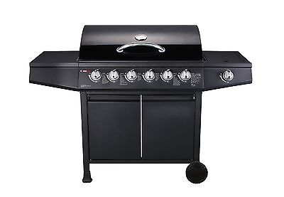 CosmoGrill 6+1 Gas Burner Grill BBQ Barbecue Side Burner BBQ D68