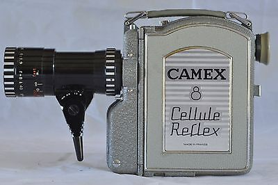 ERCSAM camera Camex 8 Cellule reflex nearly  mint with  Pan Cinor   8-40 f 1.9