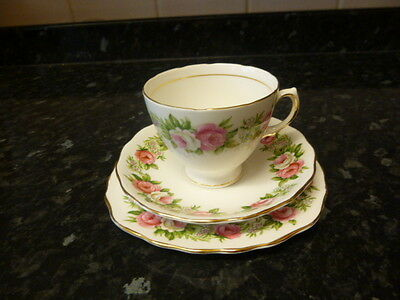"Colclough ""enchantment"" Bone China Trio"