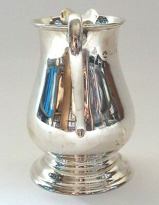Silver Jug Weight 7-5/8 Troy ounces Height. 11.5 CM. Made by Charles Boyton