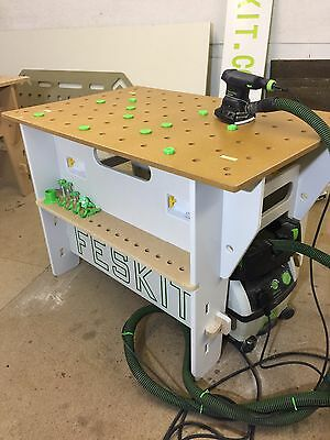 Feskit Mft Table Work Station With Mft Protectors. Fits Festool  Makita Dewalt