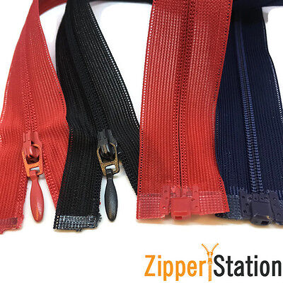 OPEN END Invisible Concealed Nylon Zips Hidden Zippers #3 (IOE)