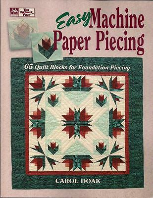 Carol Doak Paper Piecing 65 QUILT Blocks Technik Design Patchwork englisch