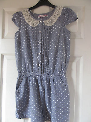 Girls Denim Style playsuit Age 12 years from Freespirit