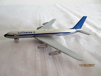 original Schuco 784/3 Lufthansa Boing 707, made W. Germanay