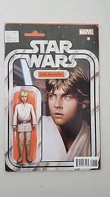 Star Wars  #1 Luke Skywalker Action Figure Variant (Comic)