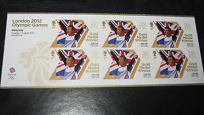 Olympic Stamps London 2012 Chris Hoy Mint