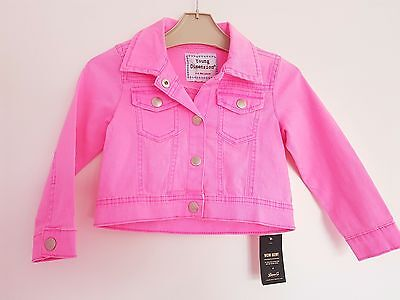 New With Tag Young Dimension Denim Girls Jacket Age 3-4 Years