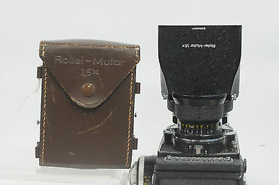 Rollei Mutar 1.5 Bay-2 with Case & Hood