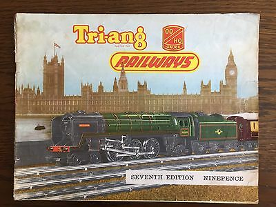 Tri-Ang  Model Railways Catalogue Seventh Edition 1961