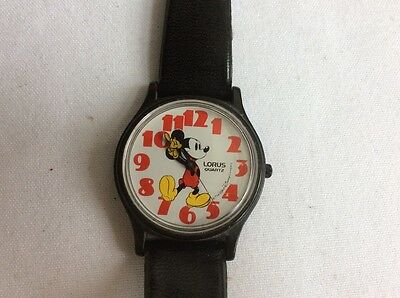 Vintage LORUS Quartz MICKEY MOUSE Watch