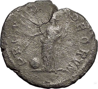 SEVERUS ALEXANDER 228AD Ancient Silver Roman Coin Forethought Magic i32956
