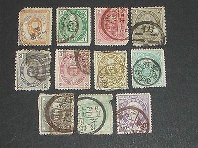 early Japan stamps 8