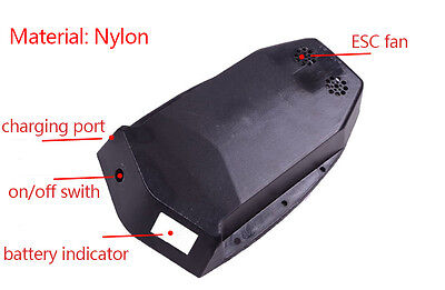 Nylon Battery and ESC case for electric skateboard longboard