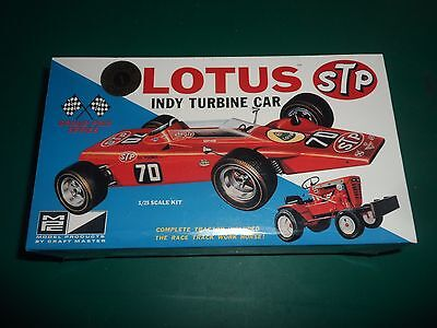 MPC 1/25 Lotus Indy Turbine Car plastic  Model Kit
