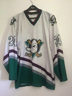Replica MIGHTY DUCKS Salei #24 Ice Hockey Shirt Jersey Trikot Size L/XL