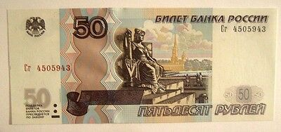 Banknote>Russia>50 Rubles>1997 (2004) Issue>Unc Condition<